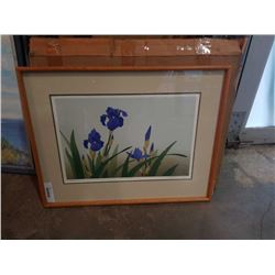 LEP BLUE IRISES 1984 4/100