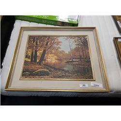 AUTUMN BRONZE BY ROBERT WOOD PRINT ON BOARD