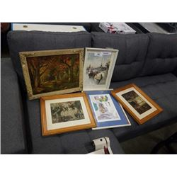 LOT OF VINTAGE AND OTHER PRINTS