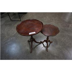2 PARLOUR TABLES