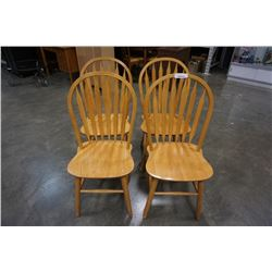 4 HOOPBACK CHAIRS