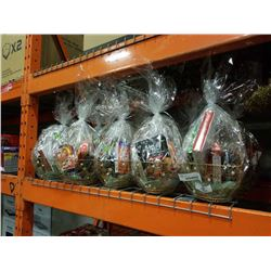 LOT OF GIFT BASKETS - FOOD COULD BE PAST EXPIRY