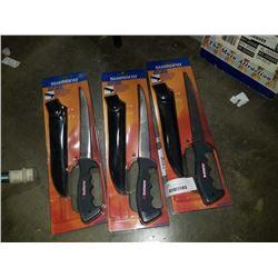 3 NEW SHIMANO FILET KNIVES