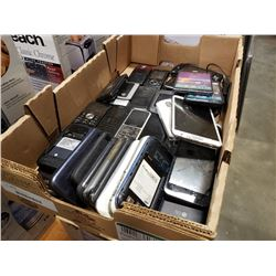 TRAY OF PARTS PHONES