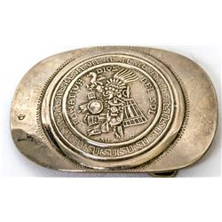 Collectible - Jewelry - Mexico Sterling Silver Belt Buckle