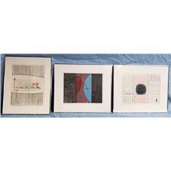 Collectible - Art - Gorge Johnson Lithographs