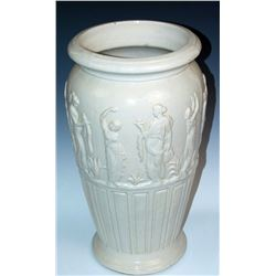 Collectible - Stoneware - Burley - Winter Floor Vase