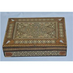 Collectible - Inlaid WIth Red Velvet Jewlery Box