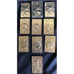 Collectible - 10 pc Pokemon Gold Cards
