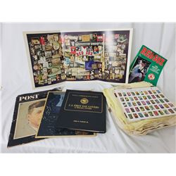 Collectible - Sport Collectibles and Stamp Collection