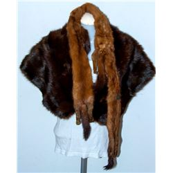 Collectible - 2pc Mink Shawls
