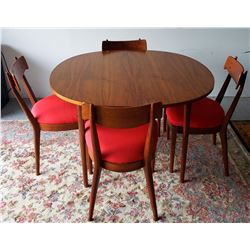 Collectible - Mid Century Modern Drexel Table and Chairs