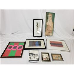 Collectible - 8 pc of Art, Mixed Artists
