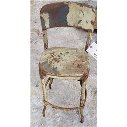 Antique Metal Chair
