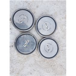 4 Ford Hubcaps