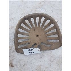 Cast Tractor Seat
