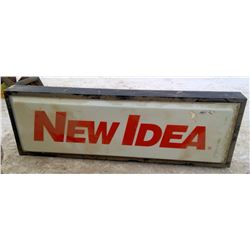 "Double Sided "" New Idea"" Sign"