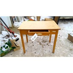 Table with Drawer