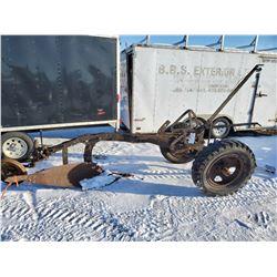 Breaking plow, 1 furrow