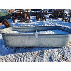 galvanized water trough, behlen country