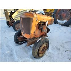 Generator powered by Allis Chalmers engine