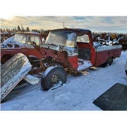 1964 MERCURY M100 TRUCK BODY, NO DRIVE TRAIN 1991028-L177579A