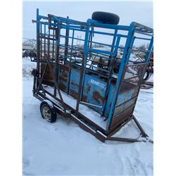 Portable Livestock Weigh Scale Senstek Systems Model dF2000