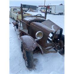 1920's ? Model Truck Frame & Partial Body