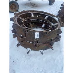 2 Steel Wheels 52 X 14 Inch