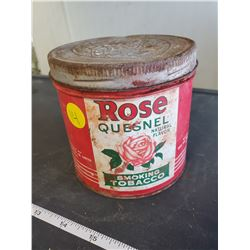 Rose Quesnel tobacco tin (unknown contents)