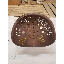 Vintage Tactor Seat