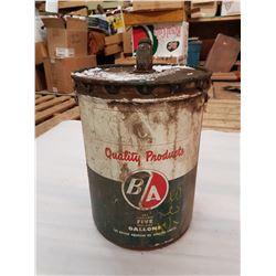 5 Gal B/A Oil Can