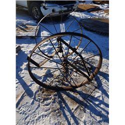 Steel Wheel Cart