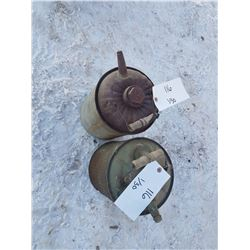2 Vintage Gas Cans