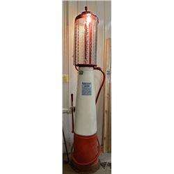 Bowser cylinder gas pump, Imperial Oil Limited