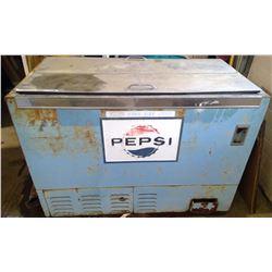 "Pepsi Chest Cooler - 49.5""l x 27""w x 33.5""h"