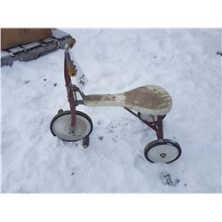 """Vintage Childrens' Tricycle - 10"""" Seat Height"""