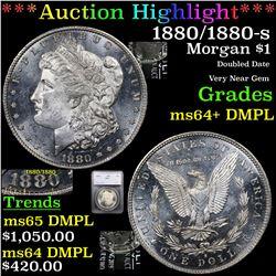***Auction Highlight*** 1880/1880-s Morgan Dollar $1 Graded ms64+ DMPL By SEGS (fc)