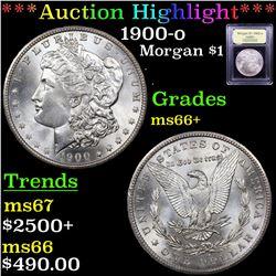 ***Auction Highlight*** 1900-o Morgan Dollar $1 Graded GEM++ Unc By USCG (fc)