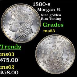 1880-s Morgan Dollar $1 Grades Select Unc