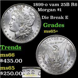 1899-o vam 25B R6 Morgan Dollar $1 Grades GEM+ Unc