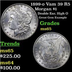 1899-o Vam 39 R5 Morgan Dollar $1 Grades GEM Unc