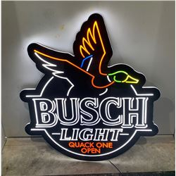 Busch Beer Quack One Open Krystal LEDeon