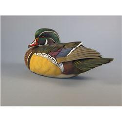 Jett Brunet Wood Duck Decoy