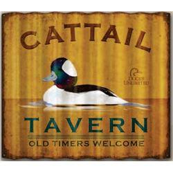 Cattail Tavern Sign