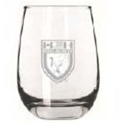 24 DU Crest Stemless Wine Glasses