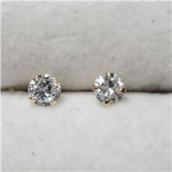 14K CZ EARRINGS