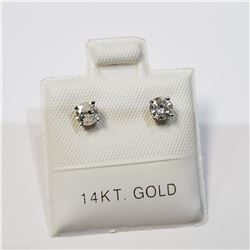 14K  DIAMOND (0.4CT) EARRINGS