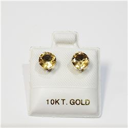10K  CITRINE(1.3CT) EARRINGS