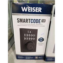WEISER SMART CODE 10 TOUCHPAD ELECTRONIC DEADBOLT